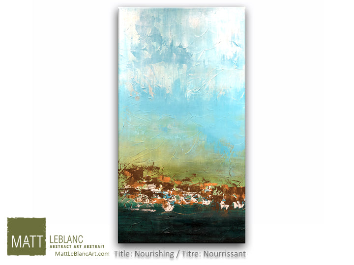 Portfolio - Nourishing by Matt LeBlanc Art-20x40