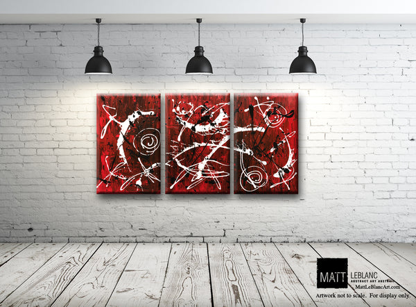 Portfolio - Infinite by Matt LeBlanc Art-24x48