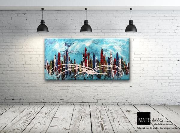 Portfolio - Disturbance by Matt LeBlanc Art-24x48