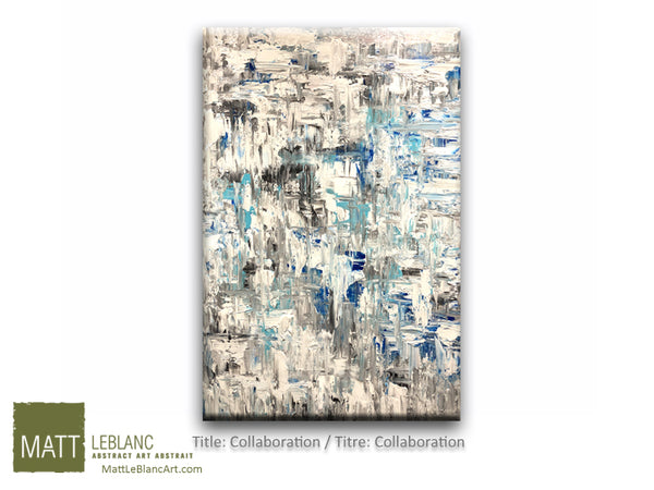 Portfolio - Collaboration by Matt LeBlanc Art-24x36