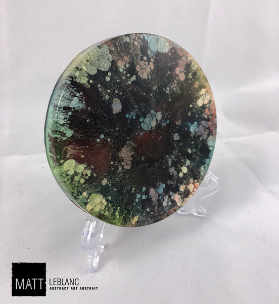 "Matt LeBlanc Supernova Art - 3.5"" round - 0041"