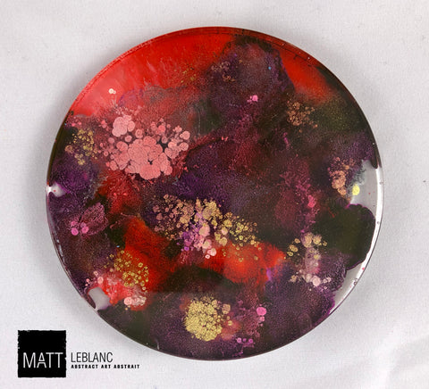 "Matt LeBlanc Supernova Art - 3.5"" round - 0067"