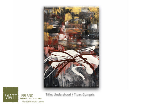 Understood by Matt LeBlanc-16x20