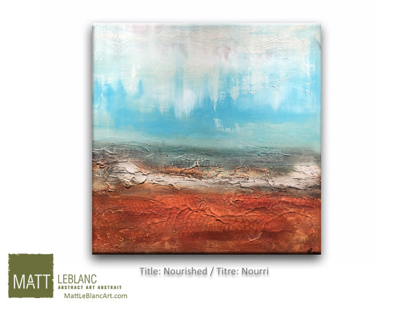 Portfolio - Nourished by Matt LeBlanc Art-36x36