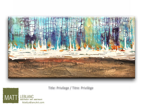 Privilege by Matt LeBlanc Art-24x48