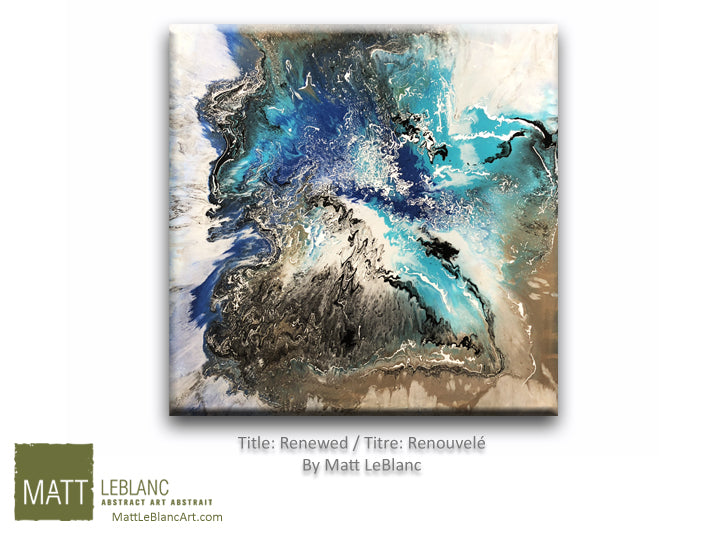 Portfolio - Renewed by Matt LeBlanc Art-36x36