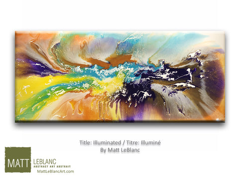 Illuminated by Matt LeBlanc Art-24x60