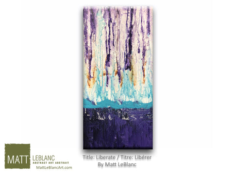 Liberate by Matt LeBlanc Art - 12x24