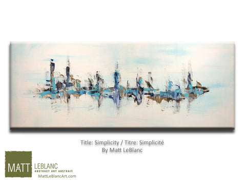 Simplicity by Matt LeBlanc Art-24x60