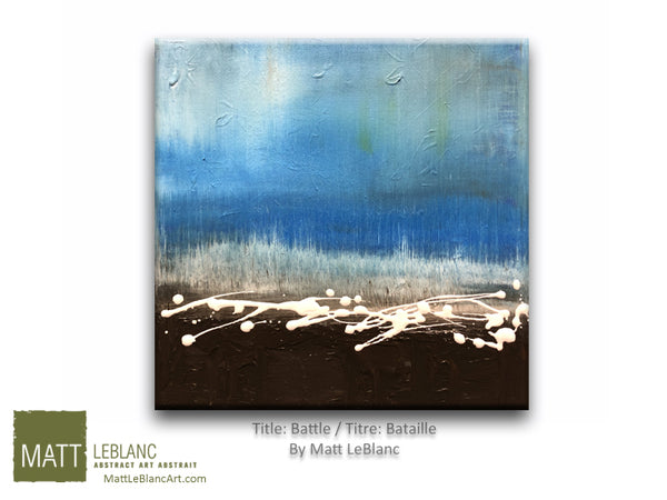 Portfolio - Battle by Matt LeBlanc-12x12