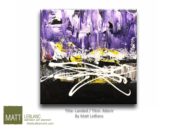Landed by Matt LeBlanc-12x12