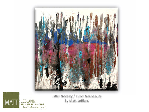 Portfolio - Novelty by Matt LeBlanc-12x12