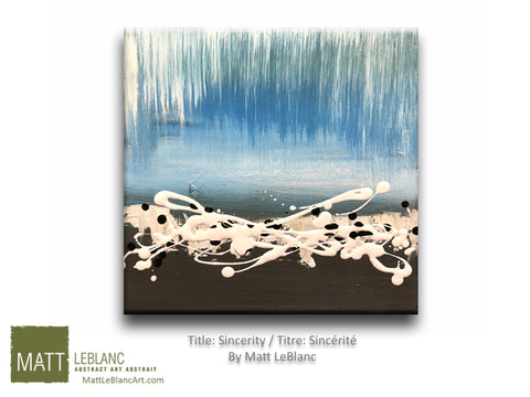 Sincerity by Matt LeBlanc-12x12
