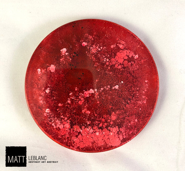 "Matt LeBlanc Supernova Art - 3.5"" round - 0083"