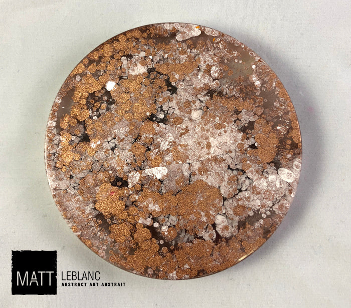 "Matt LeBlanc Supernova Art - 3.5"" round - 0086"
