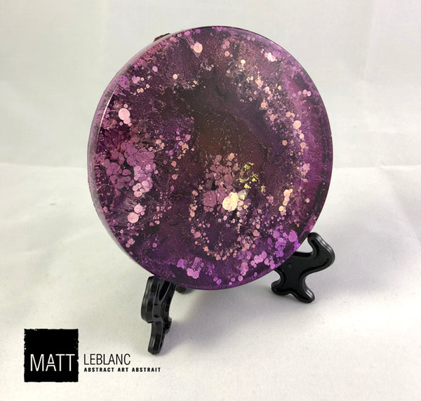 "Matt LeBlanc Supernova Art - 3.5"" round - 0088"