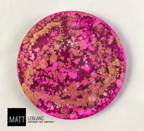 "Matt LeBlanc Supernova Art - 3.5"" round - 0089"