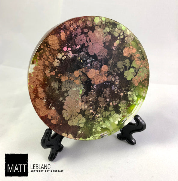 "Matt LeBlanc Supernova Art - 3.5"" round - 0091"