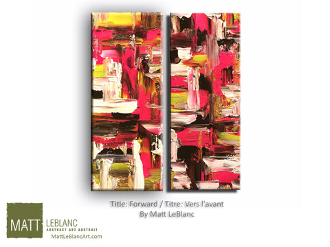 Portfolio - Forward by Matt LeBlanc Art-20x24