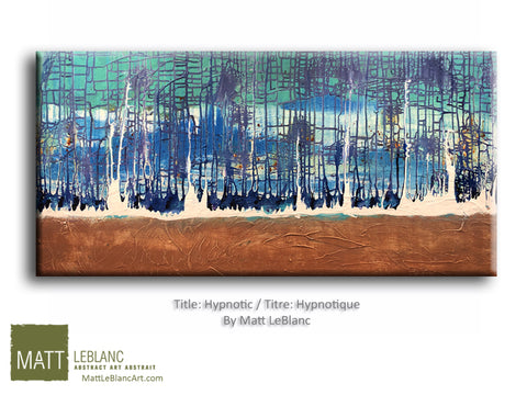Hypnotic by Matt LeBlanc Art-24x48