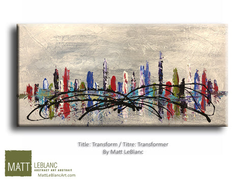 Transform by Matt LeBlanc Art-24x48