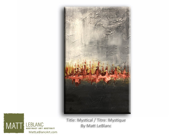Mystical by Matt LeBlanc Art-16x24