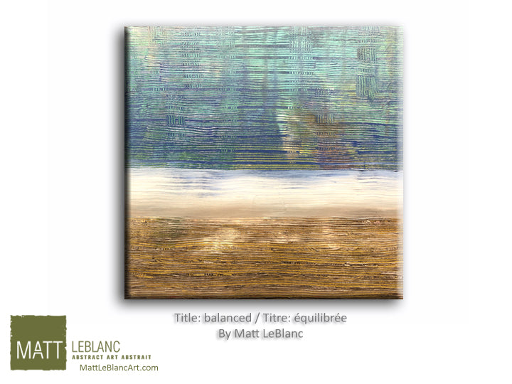Portfolio - Balanced by Matt LeBlanc-16x16