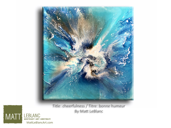 Portfolio - Cheerfulness by Matt LeBlanc Art-36x36