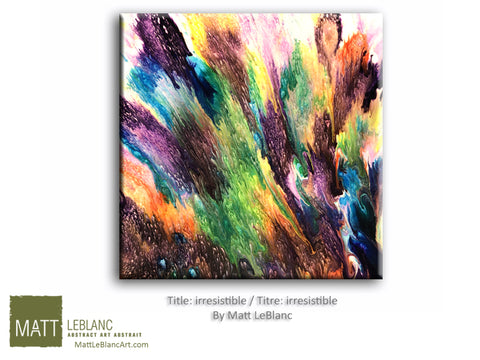 Irresistible by Matt LeBlanc-12x12