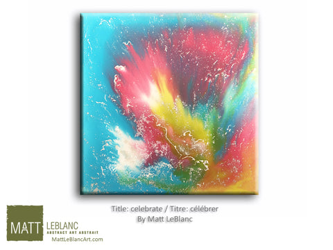 Portfolio - Celebrate by Matt LeBlanc Art-30x30