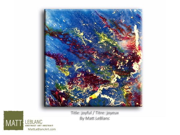 Joyful by Matt LeBlanc-12x12