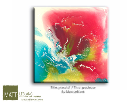 Portfolio - Graceful by Matt LeBlanc Art-30x30