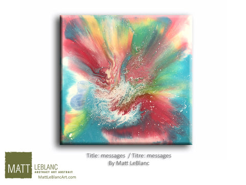Messages by Matt LeBlanc Art-30x30