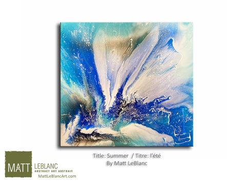 Portfolio - Summer by Matt LeBlanc Art-30x30