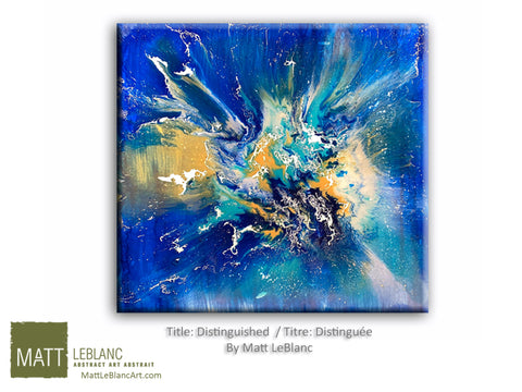 Portfolio - Distinguished by Matt LeBlanc Art-30x30