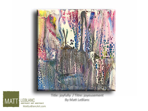 Joyfully by Matt LeBlanc-12x12
