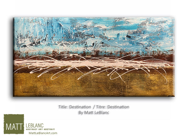 Destination by Matt LeBlanc Art-24x48