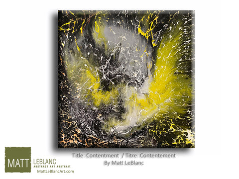 Contentment by Matt LeBlanc Art-30x30