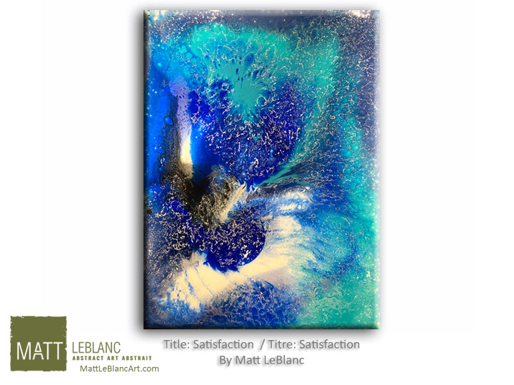 Portfolio - Satisfaction by Matt LeBlanc Art-30x40