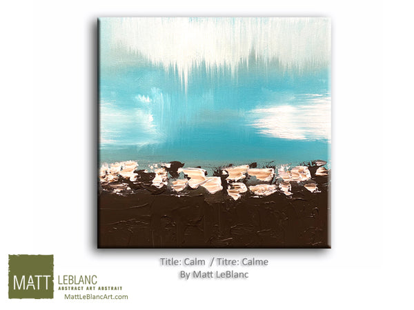 Calm by Matt LeBlanc-16x16