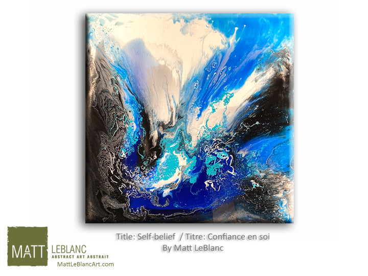 Portfolio - Self-belief by Matt LeBlanc Art-24x24