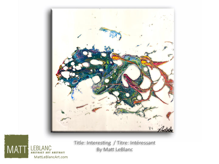 Portfolio - Interesting by Matt LeBlanc Art- 20x20