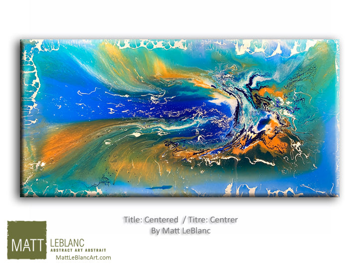 Portfolio - Centered by Matt LeBlanc Art-24x48