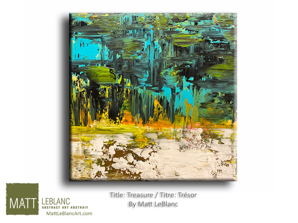 Portfolio - Treasure by Matt LeBlanc-12x12