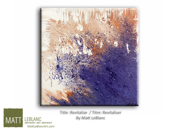 Revitalize by Matt LeBlanc Art- 20x20