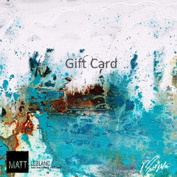 Matt LeBlanc Art Gift Cards