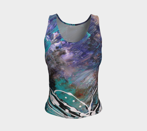 Matt LeBlanc Art REGULAR Fitted Tank Top - Design 003