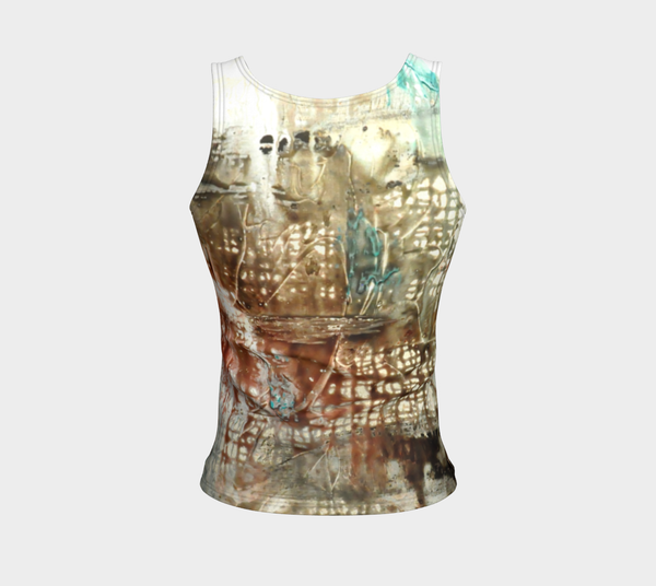 Matt LeBlanc Art REGULAR Fitted Tank Top - Design 005