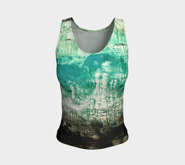 Matt LeBlanc Art REGULAR Fitted Tank Top - Design 006