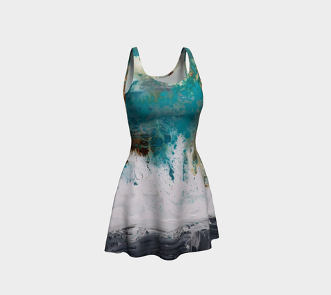 Matt LeBlanc Art Flare Dress - Design 001